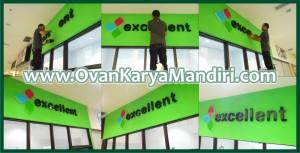 Letter Huruf Timbul Acrylic CV.OvanKaryaMandiri Advertising Malang