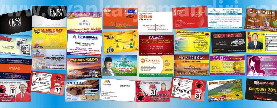 Design Name Card | Desain Kartu Nama