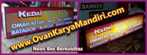 Neon Box Booth - stand. Prod.CV.OvanKaryaMandiri Advertising Raya Tlogomas 13 di Malang