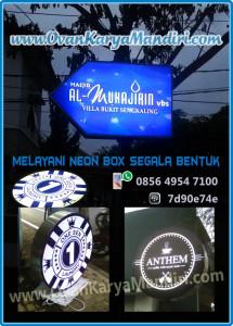 NeonBox_bentuk_Panah-Bulat-Lingkaran Prod.cv.OvanKaryaMandiri Raya_Tlogomas Malang