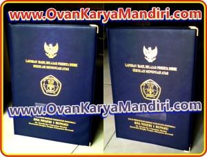 Sampul Map ijazah raport Medium cetak hotprint - CV.OvanKaryaMandiri percetakan di Malang