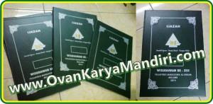 Sampul Map ijazah raport Sablonan - CV.OvanKaryaMandiri percetakan di Malang