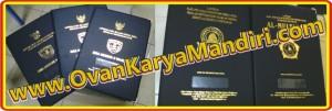 Sampul Map ijazah raport cetak timbul - CV.OvanKaryaMandiri percetakan di Malang