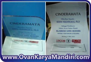 Vandel_Acrylic Motif_daun_simpel CV.OvanKaryaMandiri advertising di malang