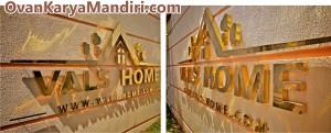 Letter Huruf timbul kuningan Tampak samping CV.OvanKaryaMandiri-Percetakan-Advertising di Malang